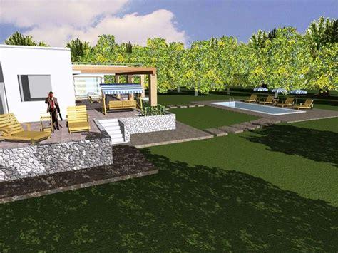 Progetto Villa Con Piscina by Foto Progetto E Costruzione Di Villa Con Piscina In
