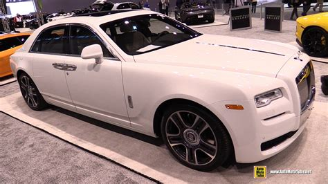 rolls royce ghost interior 2017 2017 rolls royce ghost series ii exterior and interior
