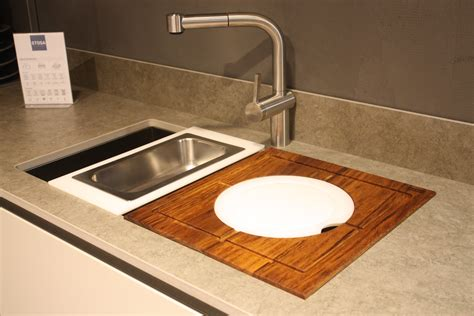 Kitchen Sink Accessory New Kitchen Sink Styles Showcased At Eurocucina