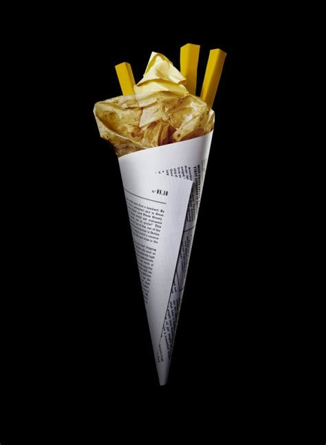 How To Make Paper Cones For Food - food meets paper food nogarlicnoonions restaurant