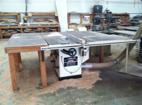 delta table saw for sale 2005 delta table saw with biesmeyer fence in ontario ca