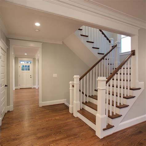 u shaped stairs the beautiful u shaped stair has hardwood treads and
