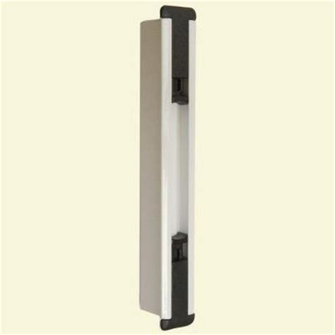 Locks For Sliding Glass Doors Home Depot Lockit Sliding Glass Door Black White Cavity Insert 200300100 The Home Depot