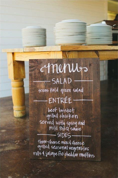10 innovative menus for your modern wedding backyard bbq