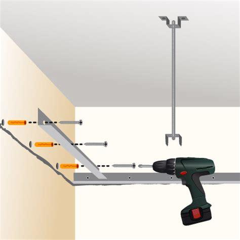 Fixation Faux Plafond by Poser Un Faux Plafond En Plaques De Pl 226 Tre Plafond