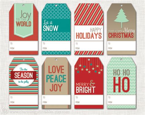 printable christmas tags funny christmas gift tag set charming printables