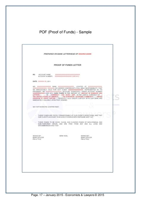 Proof Of Funds Letter Pdf Proof Of Funds Letter Template Partnership Acknowledgement Letter Sle12gif Prove It Letter