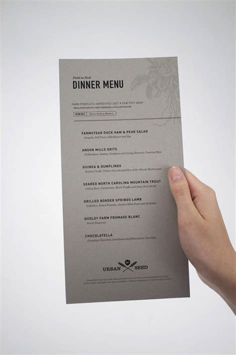 restaurant menu layout inspiration 45 remarkable food drink menu designs web graphic
