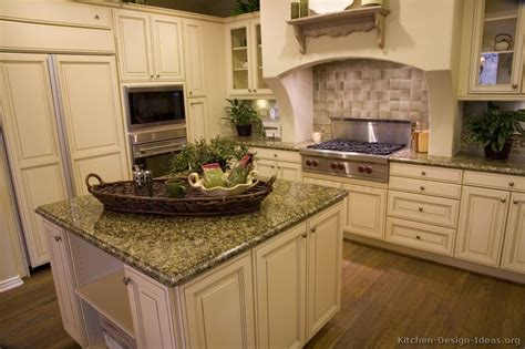 Pictures Of Off White Kitchen Cabinets | pictures of kitchens traditional off white antique