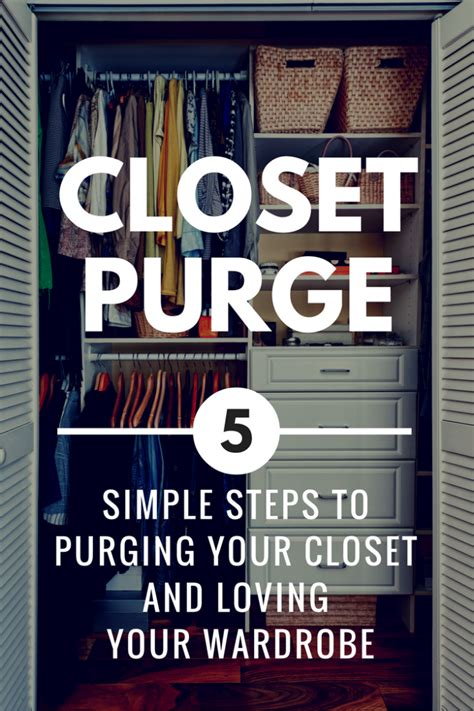 great fall closet clean out guide for purging unworn how to purge your closet love your wardrobe again