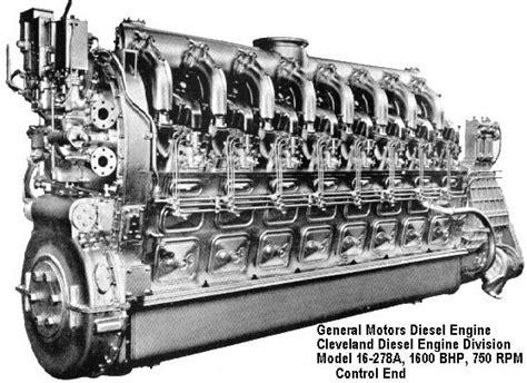 u boat engine specifications main diesel engines