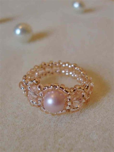 Handmade Beaded Rings - 25 best ideas about beaded rings on seed bead
