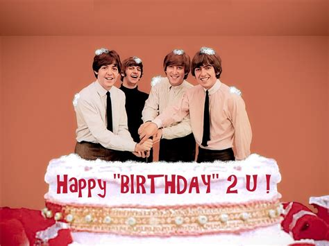 happy birthday images with the beatles happy quot birthday quot the beatles reciclado huevos 2