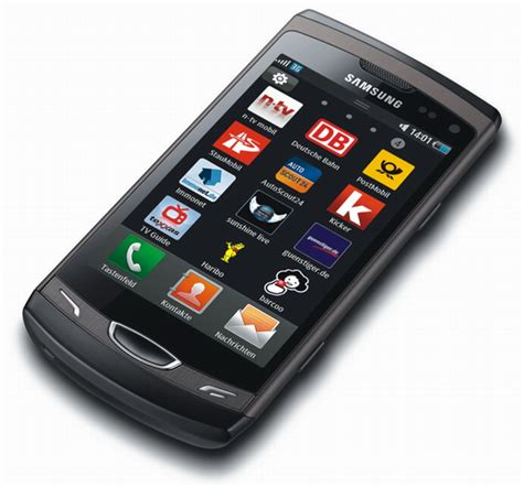 themes samsung wave s8530 samsung wave ii s8530 bada os phone unveiled features