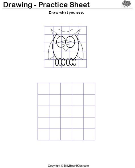 Drawing Printable Worksheets by Drawing Worksheets For Students Trace And Draw Each