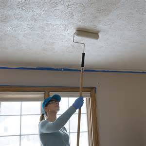 how to remove textured paint from ceiling paint a ceiling