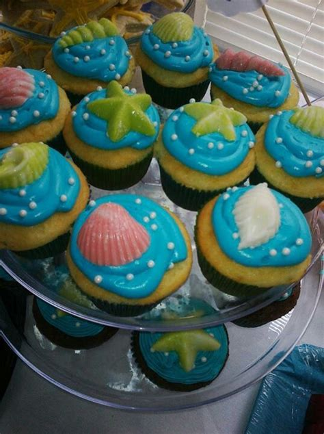 The Sea Baby Shower Theme by The Sea Theme Cupcakes Baby Shower If Its A Boy Baby Shower
