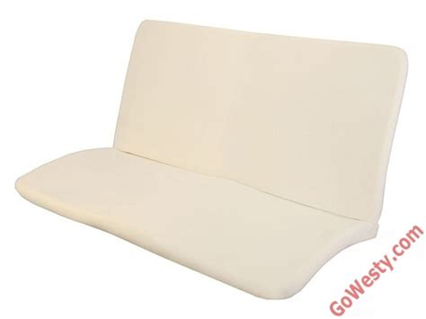 middle 3 4 bench seat foam padding gowesty