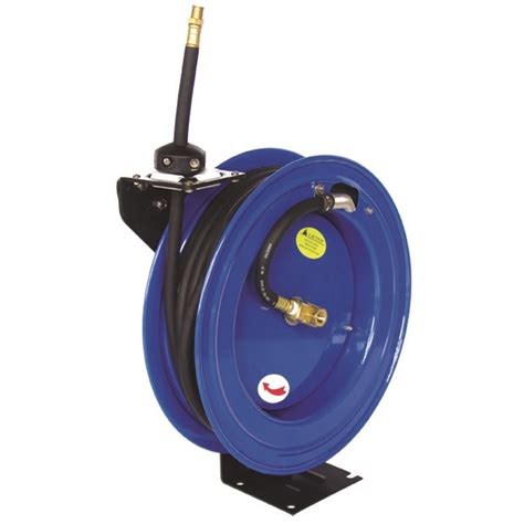 50ft 15m retractable 3 8 quot air line compressor hose reel