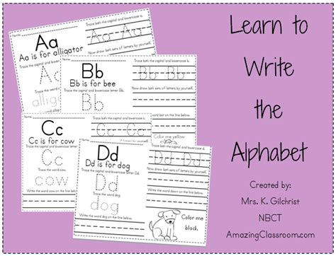 learn template learning how to write worksheets abitlikethis