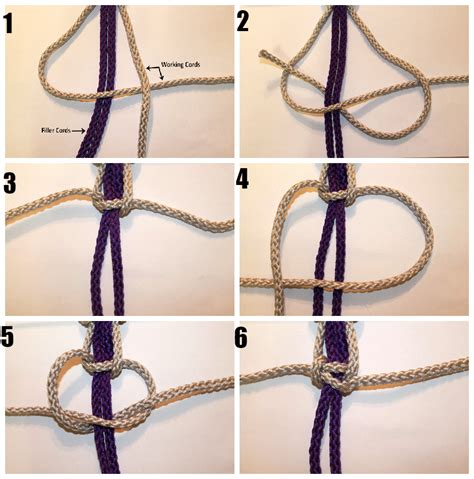 Macreme Knots - learn macrame knotting techniques simply macrame