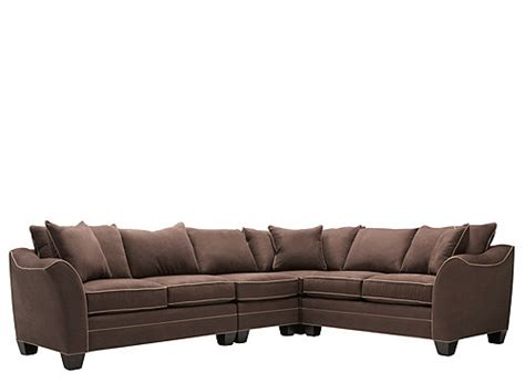 4 Pc Sectional Sofa Foresthill 4 Pc Microfiber Sectional Sofa Sectional Sofas Raymour And Flanigan Furniture