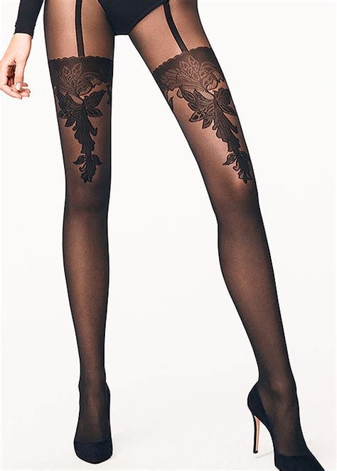 buy patterned tights online buy wolford allure fashion tights online at uk tights