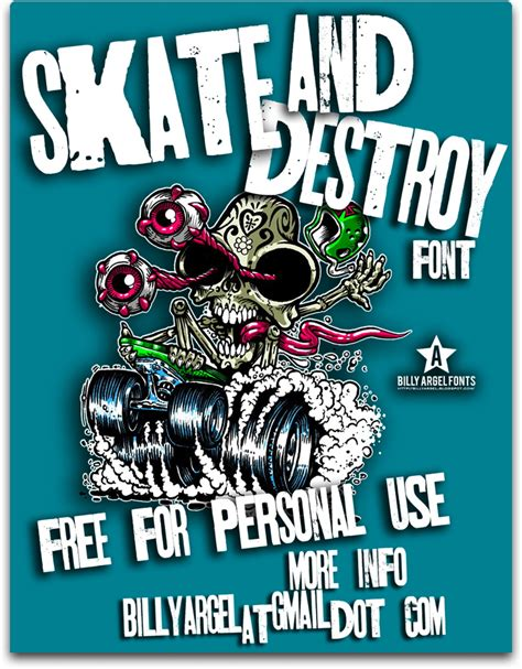 skt and destroy font 1001 free fonts
