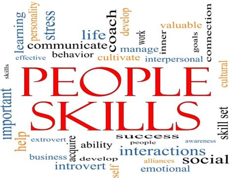 Skill With Poeple you may the right skillset but do you lack the right