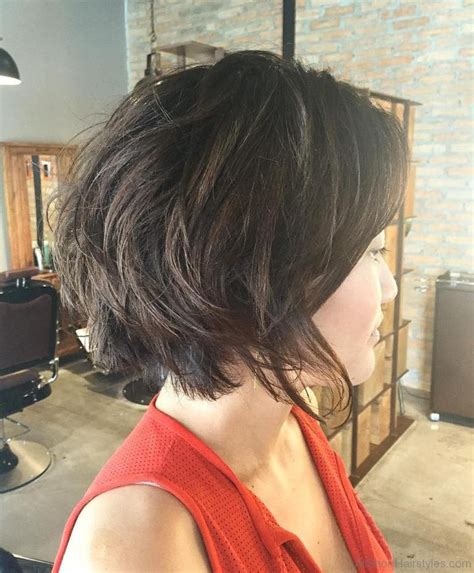 all one layer bob hairstyle layered bob with volume hairstylegalleries com