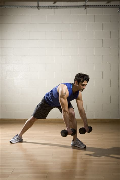 side lunge touch  row coach