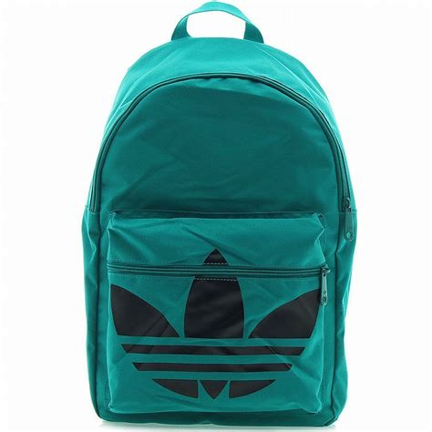 New Adidas Black For School adidas backpack classic trefoil green black daypack