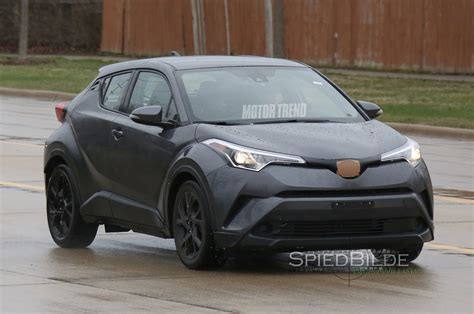 toyota in u s spec 2017 toyota c hr prototype spied testing in