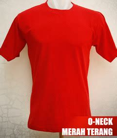Kaos Polos Lengan Panjang Merah O Neck Cotton Combed 20s Smlxl kaos polos o neck pendek 171 kaos polos kece murah