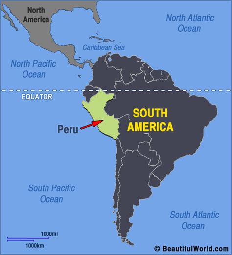 peru on the map map lima peru south america