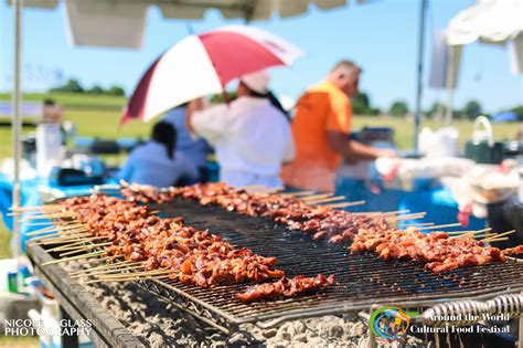 cuisine festive around the cultural food festival where traditions