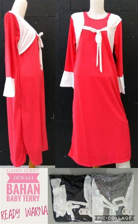 Baju Muslim Gamis Dewasa grosir gamis dewasa terbaru murah 35ribuan bisnisbajumu
