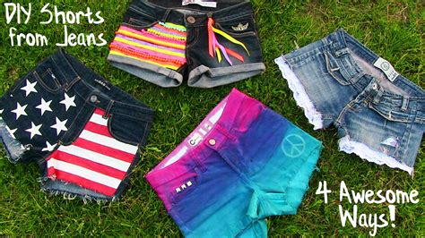 Willow Home Decor by Diy Clothes 4 Diy Shorts Projects From Jeans Easy Youtube