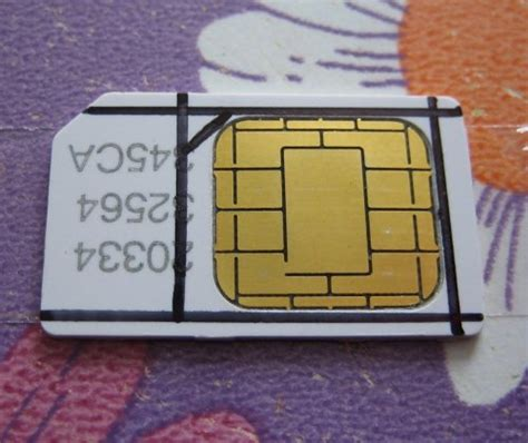 make a sim card into a micro sim how to make micro sim convert sim to micro sim and micro