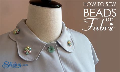 how to sew beaded fabric mysewingmall dazzle with embellishment how to sew