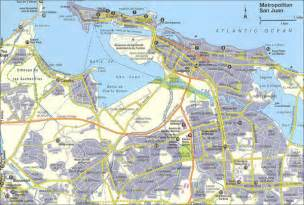 San Juan Puerto Rico Map by San Juan City Map San Juan Puerto Rico Mappery