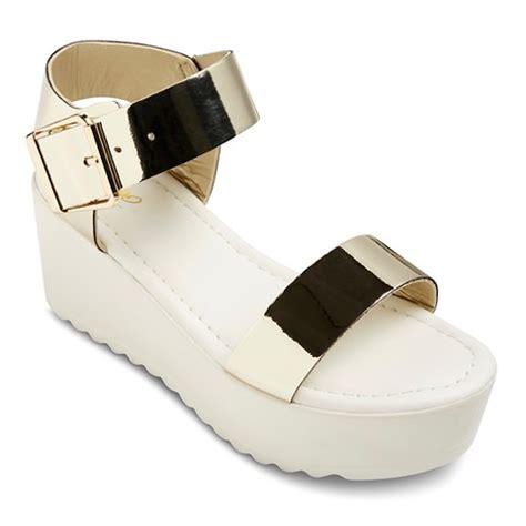 s adley quarter platform sandals gold