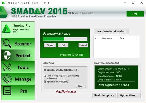 Pro Terbaru hapus virus locky teslacrypt dengan smadav 2016 10 6 antivirus jeripurba