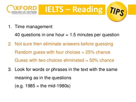 Mba Colleges In Uk With Ielts by All Tips For Ielts Oxford Uk