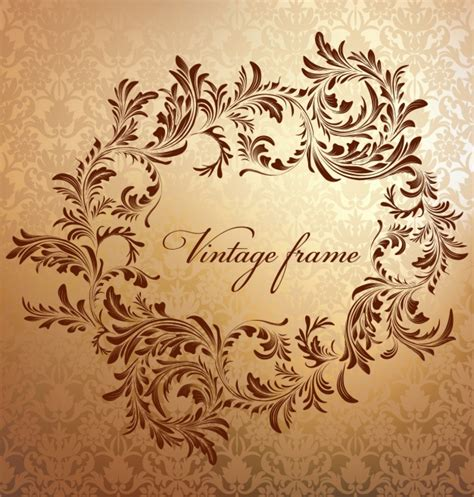 frame design online free vintage frame design vector free download