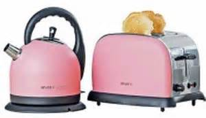 Pink Toaster And Kettle Welcome To The Pink World With Argos Hometone