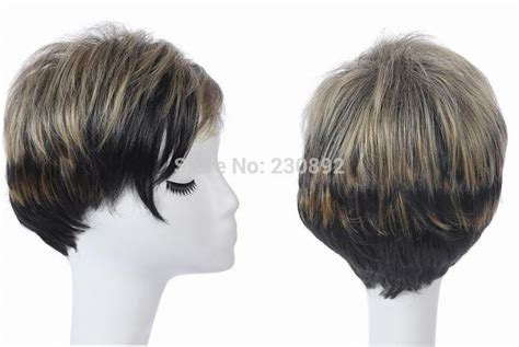 1pc natural wig african american short hairstyles wigs for black women synthetic quality 1pc natural wig african american short hairstyles wigs for