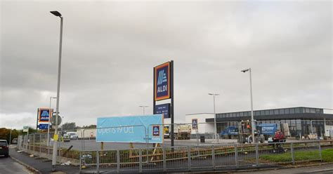 plymouth herald contact a brand new aldi store in opening in plymouth today