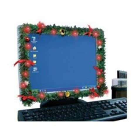christmas decorations on the computer six ways to decorate your desk not your coffee mike s bloggity canada s entertainment