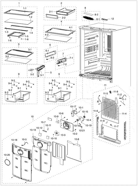 samsung refrigerator parts diagram 301 moved permanently
